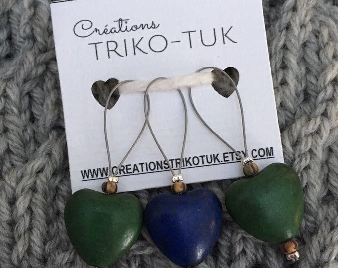 Stitch markers - stitch markers for knitting and crochet - guards stitches