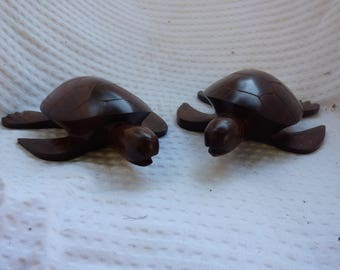 Ironwood Carving (Turtle (pair of two)