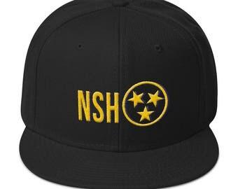 Nashville Snapback Hat