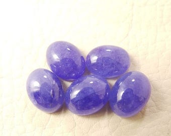 38% OFF Natural Tanzanite Oval Cab, Tanzanite Smooth Oval Shape Cabochon, 10.5-11 MM Size 5 Pieces, Loose Gemstone Beads AAA Grade Quality