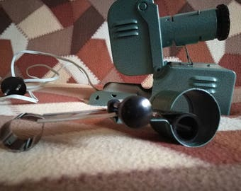 Slide projector Projector Soviet projector Old projector Collectible projector Slide films on your wall Projector for slide films 70's Gift