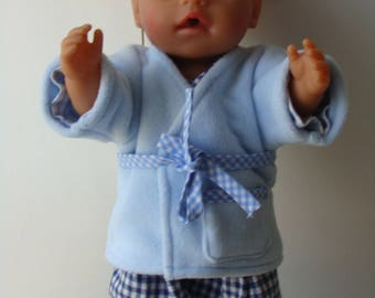 NIGHT SET FOR YOUR DOLL TO 43CM BABY BORN