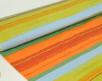 Bio - Jersey stripes jungle Orange