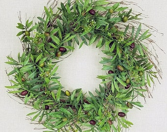 "ESE Olive & Seeds Wreath, 24"""