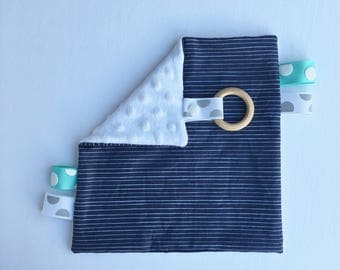 Taggy striped Navy