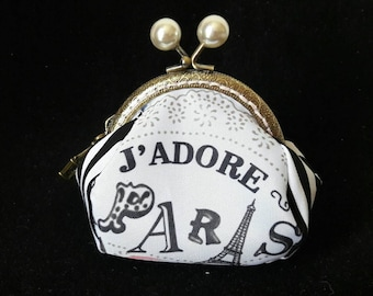 Coin purse coin Purse Paris