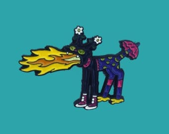 Snowball II The Simpsons Treehouse of Horror Halloween Pin Badge