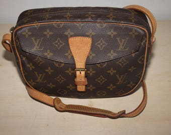 Authentic LOUIS VUITTON Monogram Jeune Fille MM shoulder bag - (Ref-1503)