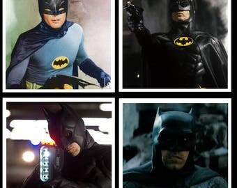 Batman Inspired Coaster Set