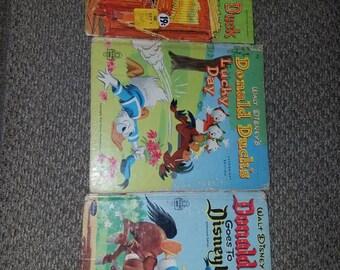Walt Disney Donald Duck Whitman Books
