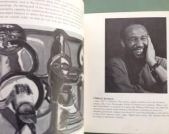 AFRICAN AMERICAN ART Herbert Gentry by Romare Bearden, Clifford Jackson, Leonard Malone, John A. Williams, Studio Museum Harlem exhibit 1982