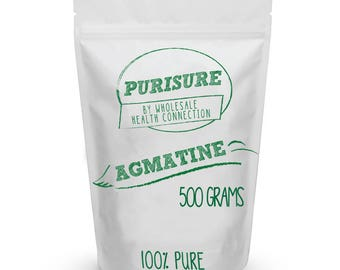 Purisure Agmatine Powder 500g (1000 Servings)   Physical Energy Booster