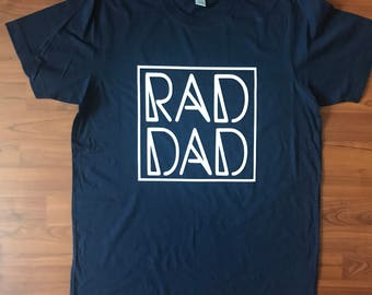 Men's Navy Rad Dad Tee/Father's Day