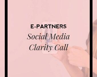 Social Media Clarity Call | Marketing Audit | Instagram Marketing | Facebook Marketing | Pinterest Marketing