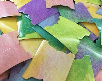 Watercolor Bible Tabs Pack (66 Tabs & Two Sheets of 66 Labels)