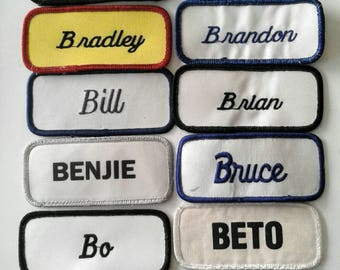 """Name Patches starting with the letter """"B"""""""