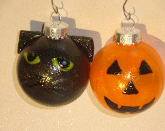 halloween ornaments set of 4 - Halloween Christmas Ornaments
