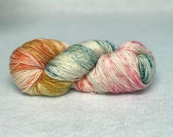 Happy Candy - Hand Dyed Yarn - SW Merino Wool/Nylon (80/20) Fingering/Sock Weight