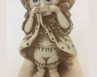Vintage Russ and Wallace Berrie Co I Mith You Unbreakable Figurine 1975