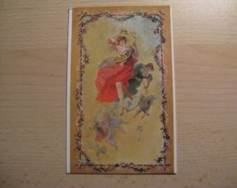 Antique French postcard Jules Chernet ... years 10 - 20 ...