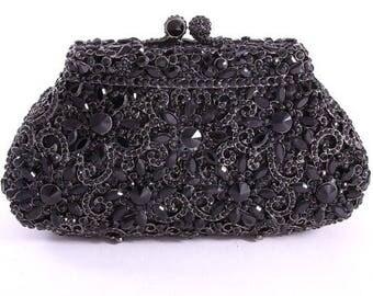 Crystal Evening Clutch Bag