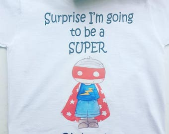surprise I'm going to be a big brother t shirt