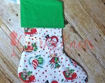 stocking - Monogrammed Christmas Stockings