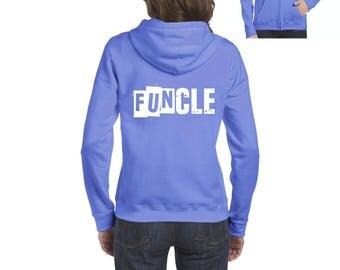 Family Hoodie Funcle  Full-Zip Women's Hoodie