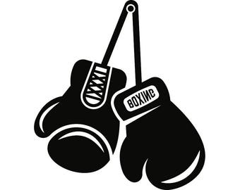 Boxing gloves svg | Etsy