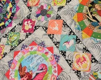 Spindrift pattern designed by Michelle Mckillop for Jen Kingwell Designs