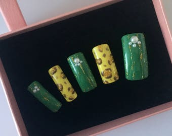 Nail Art Design Handmade artificial nail tips