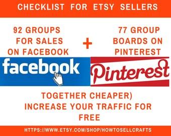 Facebook group Pinterest boards Seo Facebook help Facebook marketing  Pinterest marketing   Etsy shop promotion Pinterest pin New seller
