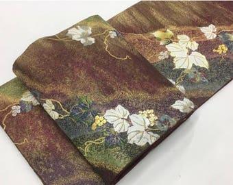 Japanese Silk Obi by Yamato Original