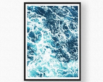 Sea Print, Sea wall art, Sea Printable, Wave Printable, Sea Art, Ocean Waves Art, Sea Photography, Water Waves Printable, Ocean Waves, Sea