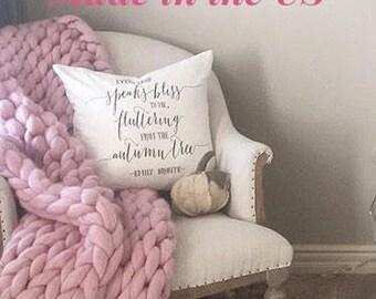 Chunky Knit Blanket, Chunky Knit Throw Blanket, Chunky Knit Throw, Chunky Knit Blanket, Arm Knit Blanket, Merino Wool Chunky Knit Throw