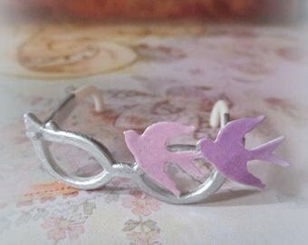 Prince inspired 1:6 scale custom doll dollhouse pink purple ooak repainted fashion glasses for Monster High Tonner Ever After