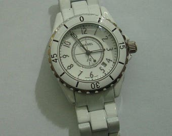 Chanel Women Watch Sport J12 with Date Made in Swiss Used Working Condition