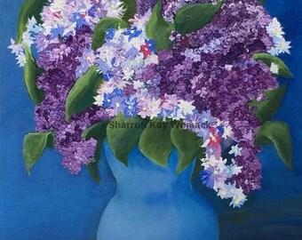 Lilacs 10x8