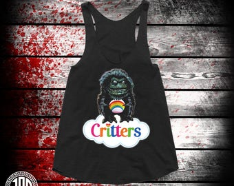 CritterBears - Women's Racerback Tank - Black