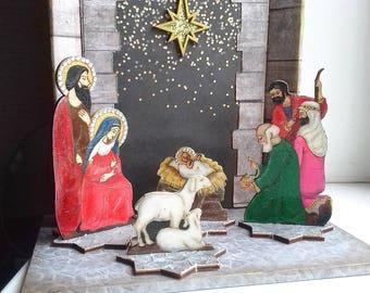 "Roombox "" Christmas Nativity"""