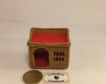 two-storey summer house cat basket