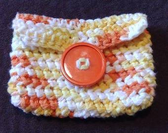 Crochet Coin Purse with Button