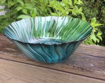 Jeannette Swirl salad bowl