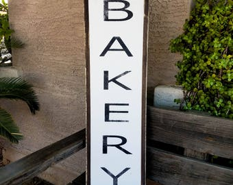 Bakery | Kitchen Bakery Sign | Farmhouse Bakery Sign