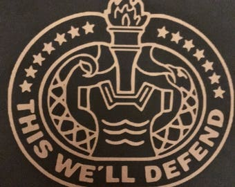 Army Drill Sergeant Badge Decal