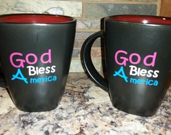Mug- God Bless America