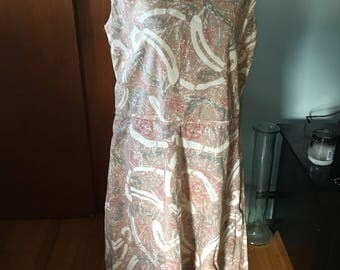 Vintage Multi-Colored Dress Appears to Be Home Made