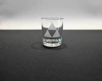 Glass shot The Legend Of Zelda - Triforce