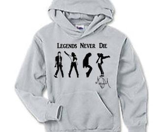 Legends Never Die Michael Jackson Hoodie