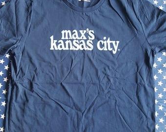 Max's Kansas City t-shirt